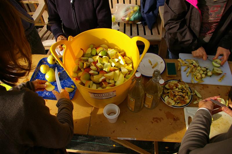 Squash and Apple Day 2013 (credit Amanda Waite)