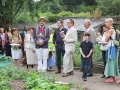 Opening of Heritage Fruit Garden as part of Rookery Centenary Celebrations, July 2013